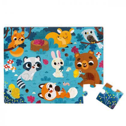 Janod® Otroški puzzli Forest Animals 20 kosov