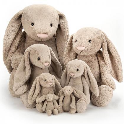 Jellycat® Plišasti zajček Bashful Beige Bunny