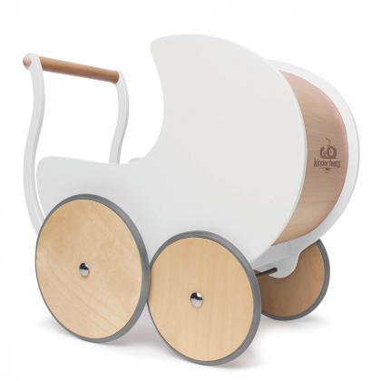 Kinderfeets® Lesen voziček za lutke in urjenje hoje White