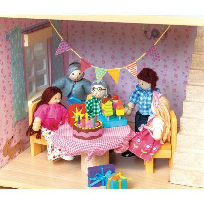Le Toy Van® Dodatki za hiško Čas za zabavo