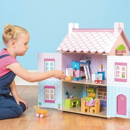 Le Toy Van® Hiška za punčke Prva sanjska hiška