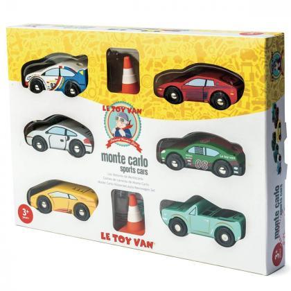 Le Toy Van® Set avtomobilčkov Monte Carlo