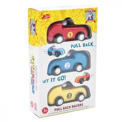 Le Toy Van® Set dirkalnih avtomobilčkov