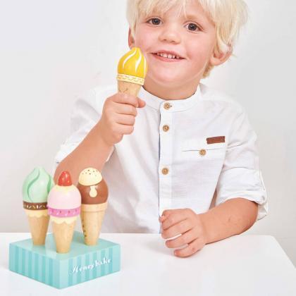 Le Toy Van® Set sladoledov v kornetu