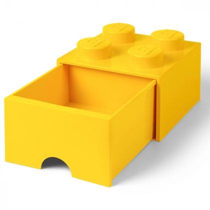 Lego® Kocka s predalnikom za shranjevanje 4 Yellow