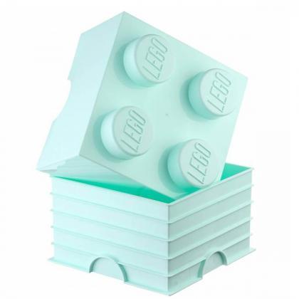 Lego® Kocka za shranjevanje 4 Aqua