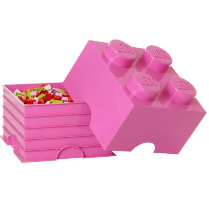 Lego® Kocka za shranjevanje 4 Bright Purple