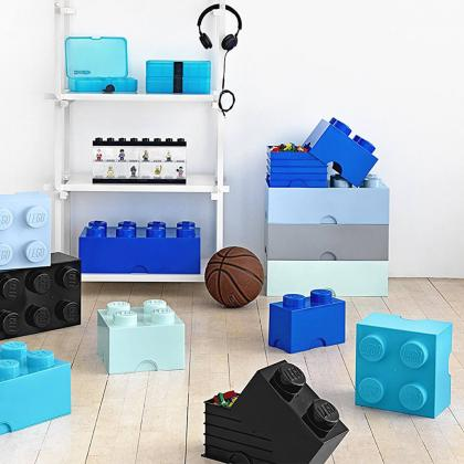 Lego® Kocka za shranjevanje 4 Medium Azur