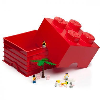 Lego® Kocka za shranjevanje 4 Red