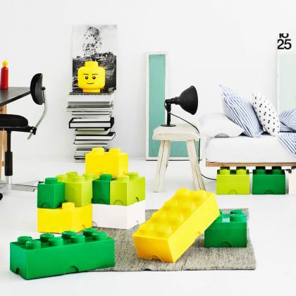 Lego® Kocka za shranjevanje 8 Dark Green