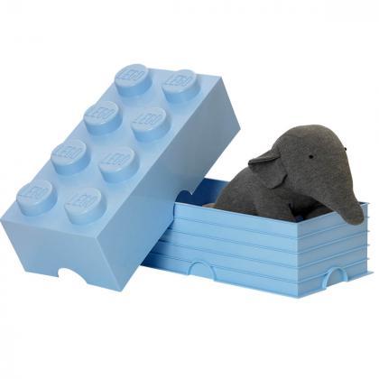 Lego® Kocka za shranjevanje 8 Light Royal Blue