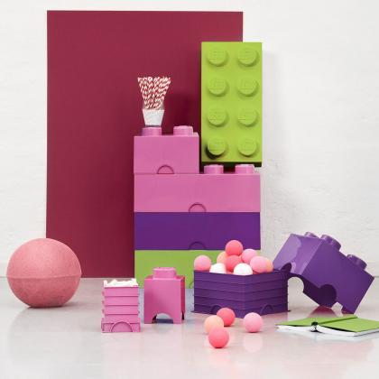 Lego® Kocka za shranjevanje 8 Medium Lilac