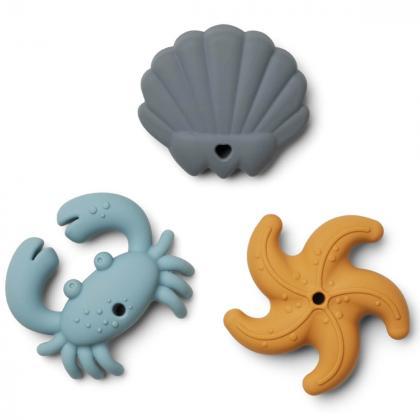 Liewood® Grizala za zobke Morsko Kraljestvo Tonk Blue Multi Mix