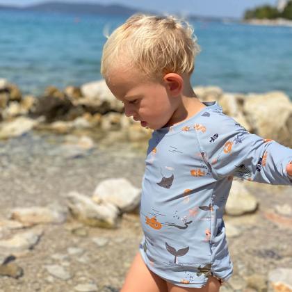 Liewood® Kopalna majica Noah Sea Creature Mix