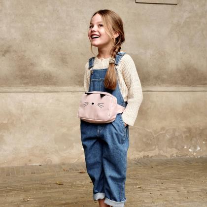 Liewood® Otroška torbica za okoli pasu Kendall Cat Rose