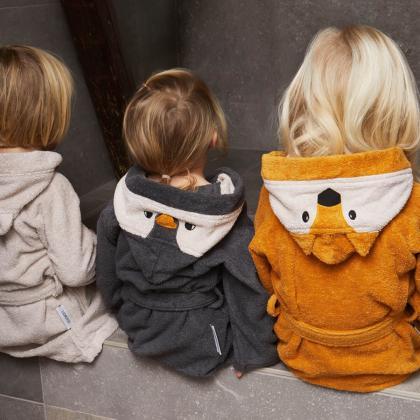 Liewood® Otroški kopalni plašček Lily Polar Bear Sandy