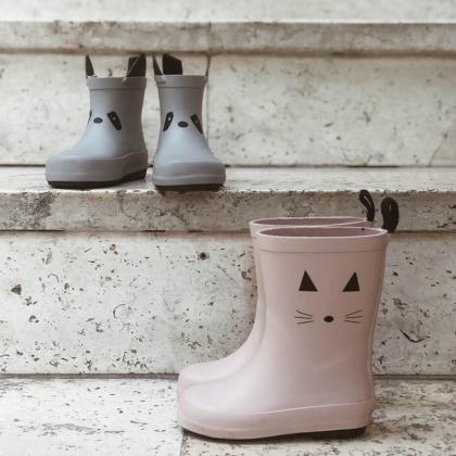 Liewood® Otroški škornji za dež Rio Leo Ecru
