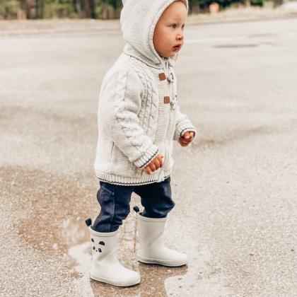 Liewood® Otroški škornji za dež Rio Panda Dumbo Grey