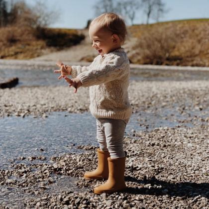 Liewood® Otroški škornji za dež Rio Rabbit Mustard