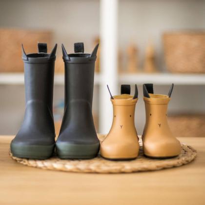Liewood® Otroški škornji za dež River Black/Hunter Mix