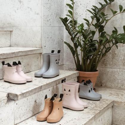 Liewood® Otroški škornji za dež Tobi Leo Ecru