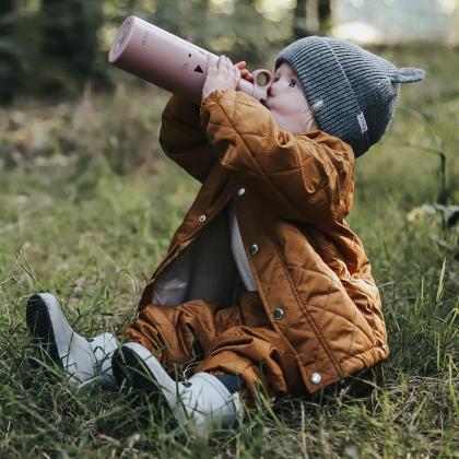 Liewood® Otroški škornji za dež Tobi Panda Dumbo Grey