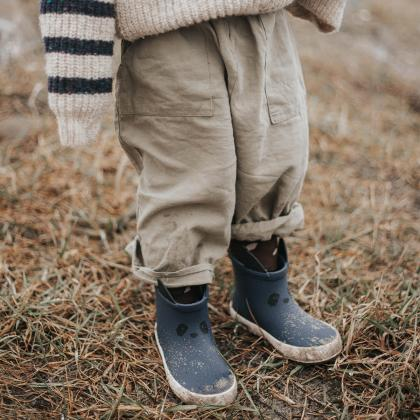 Liewood® Otroški škornji za dež Tobi Panda Navy