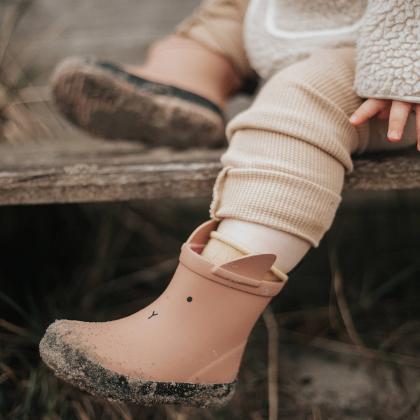 Liewood® Otroški škornji za dež Tobi Rabbit Dark Rose