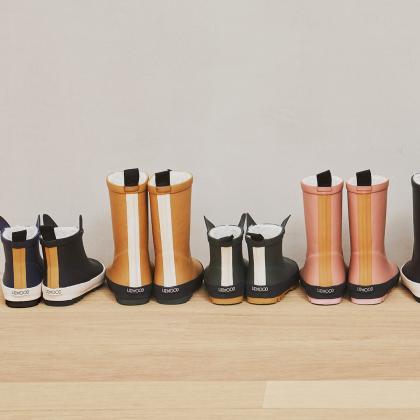 Liewood® Otroški topli škornji za dež Jesse Dark Rose