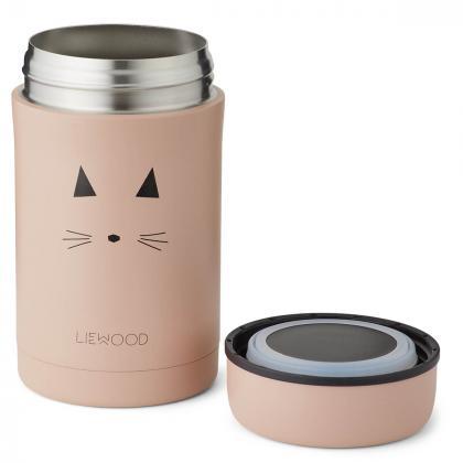 Liewood® Termo posodica za hrano Bernard Cat Rose 500ml