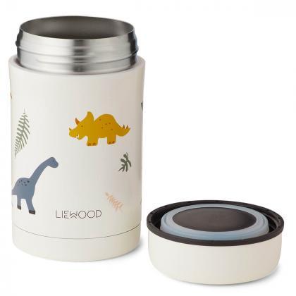 Liewood® Termo posodica za hrano Bernard Dino Mix 500ml