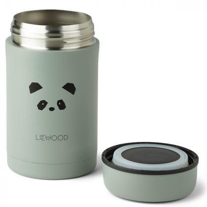 Liewood® Termo posodica za hrano Bernard Panda Peppermint 500ml