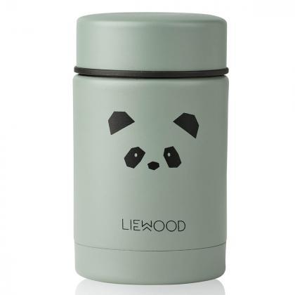 Liewood® Termo posodica za hrano Nadja Panda Peppermint 250ml