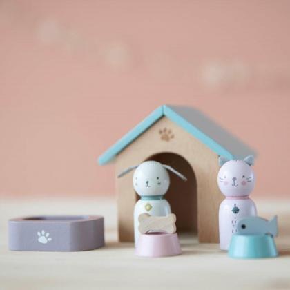 Little Dutch® Dodatki za hiško Hišni ljubljenčki