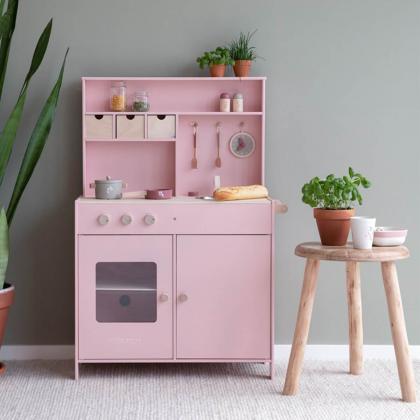 Little Dutch® Lesena kuhinja Pink