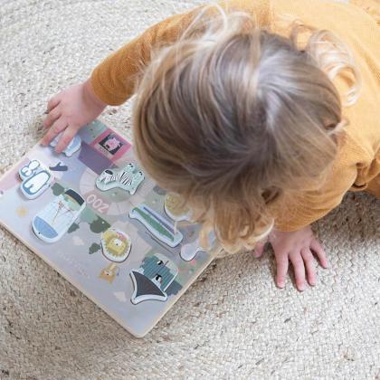 Little Dutch® Lesene puzzle Zoo