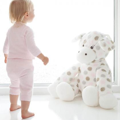 Little Giraffe® Plišasta igračka Big Giraffe Pink Dots