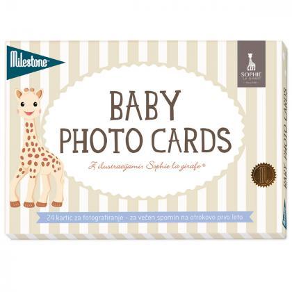 Milestone® Kartice za fotografiranje Sophie La Girafe