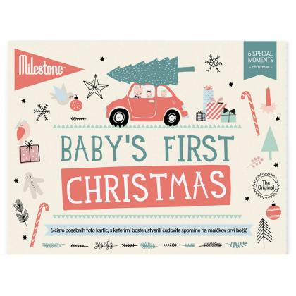 Milestone® Knjižica za posebne priložnosti Prvi božič