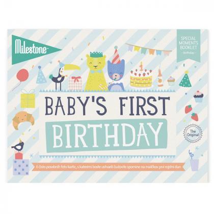 Milestone® Knjižica za posebne priložnosti Prvi rojstni dan