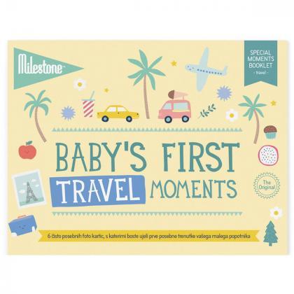 Milestone® Knjižica za posebne priložnosti Prvi trenutki na potovanju