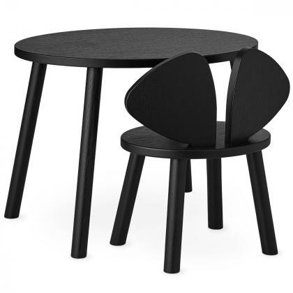 Nofred® Lesen otroški stolček Mouse Black (2-5 let)