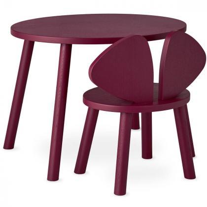Nofred® Lesen otroški stolček Mouse Burgundy (2-5 let)