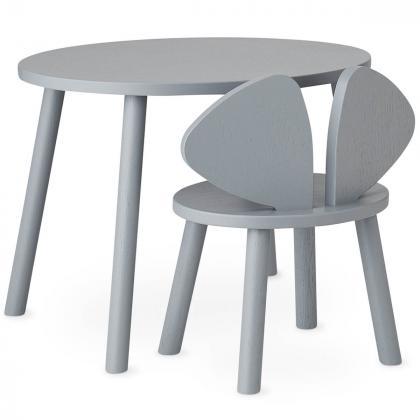 Nofred® Lesen otroški stolček Mouse Grey (2-5 let)