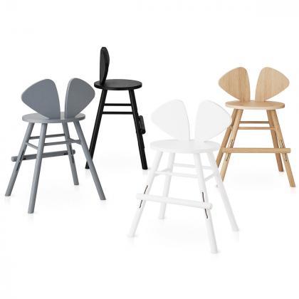Nofred® Lesen otroški stolček Mouse Junior Black (3-9 let)