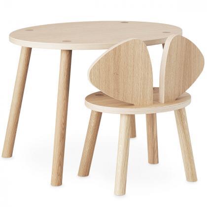 Nofred® Lesen otroški stolček Mouse Oak (2-5 let)