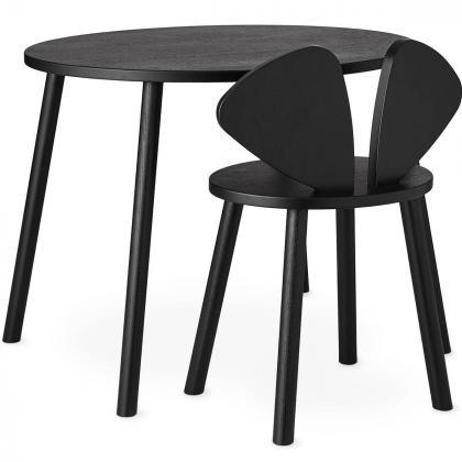 Nofred® Lesen otroški stolček Mouse School Black (6-10 let)