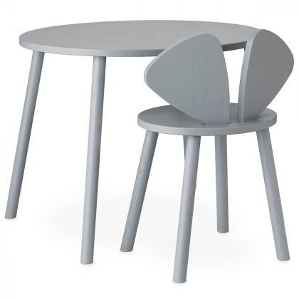 Nofred® Lesen otroški stolček Mouse School Grey (6-10 let)