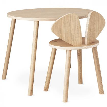 Nofred® Lesen otroški stolček Mouse School Oak (6-10 let)