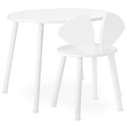 Nofred® Lesen otroški stolček Mouse School White (6-10 let)